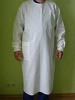 Хирургический халат. Ткань: 100% хлопок. Опт 160 грн. Розница 220 грн.