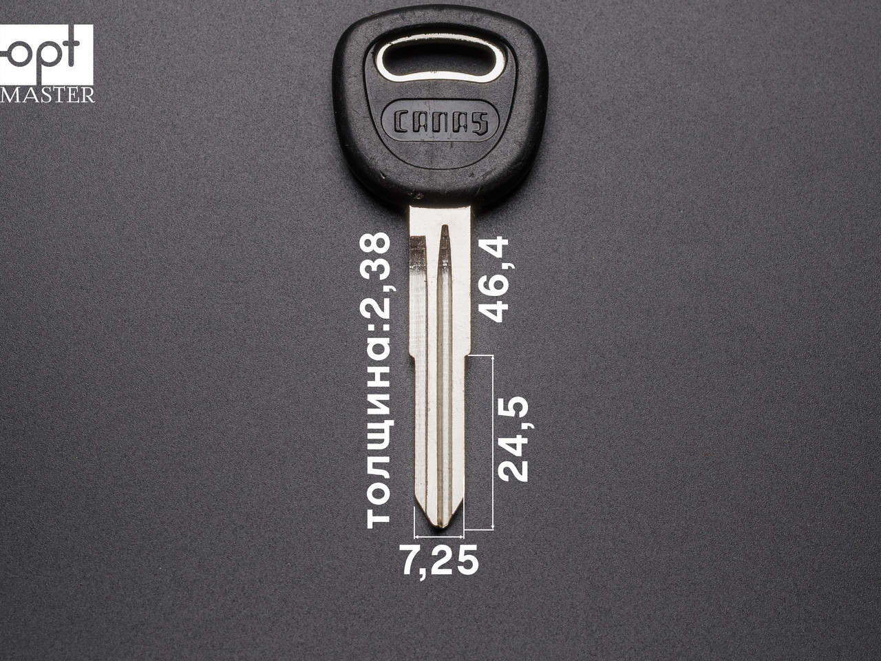 KIA - KI1DP1, арт. G-017 заготовка ключа