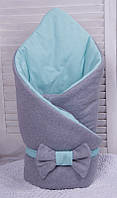 Демисезонный конверт-одеяло Mini (ментол)