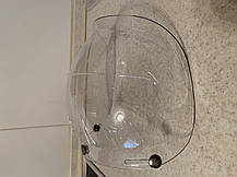 Бабл визор на ретро 3/4 хамелеон шлем каску ретро Полулицевик bubble visor, фото 3