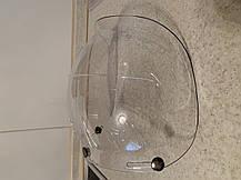 Прозрачный бабл визор под мото шлем каску ретро Полулицевик, фото 3
