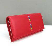Красный кошелек lk-94-571 женский кожаный Lison Kaoberg, фото 1