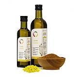 Рижієва олія 0,25 л сертифікована без ГМО сиродавлена холодного віджиму, фото 4
