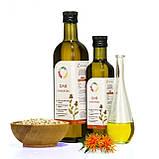 Сафлоровое масло 0,25 л сертифицированное без ГМО сыродавленное холодного отжима, фото 2