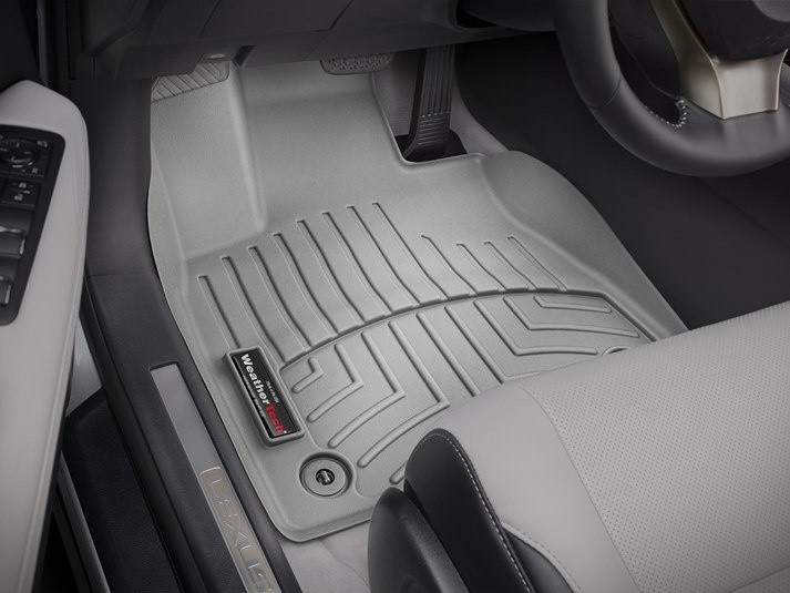 Ковры резиновые WeatherTech Lexus RX 2016+ передние серые