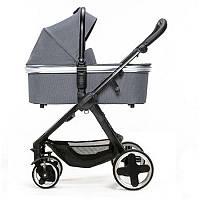 Детская универсальная коляска 2 в 1 Espiro Sonic Gel 17 Graphite Street
