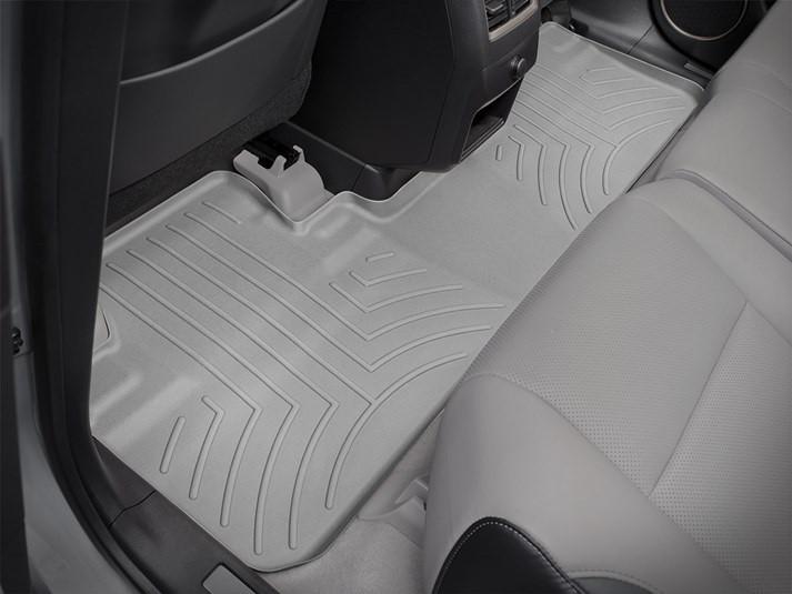 Ковры резиновые WeatherTech Lexus RX 2016+ задние серые