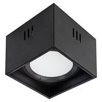 """Светильник  накладной квадрат. """"SANDRA-SQ15/XL"""" 15W 4200K черный, белый"""