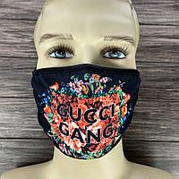 ● Многоразовая маска - Gucci ●