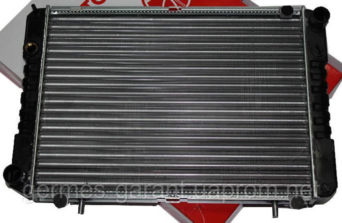 Радіатор водяного охолодження ГАЗ 3302 3 рядний під рамку мідний