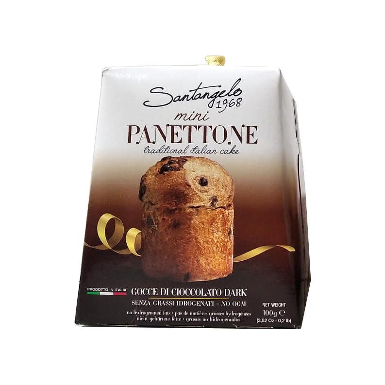 Паска Santangelo Mini Panettone Cioccolato, 100г, 24шт/ящ
