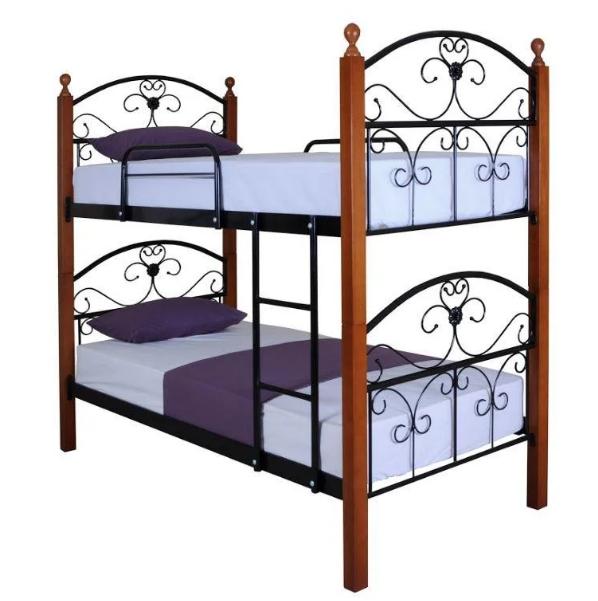 Кровать двухъярусная Патриция Вуд TM Melbi