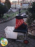 Измельчитель веток садовый с бункером IKRA Mogatec EGN 2500 (б/у из Германии)