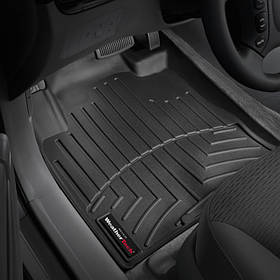 Килими гумові WeatherTech Maserati Levante 2017+ передні (крім 4-х зонного клімату) чорні
