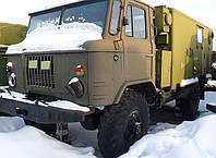 Автомобиль ГАЗ-66, с хранения