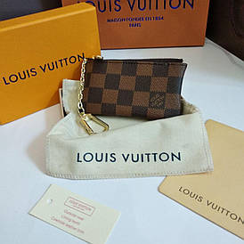 Ключница Louis Vuitton кожа в коробке
