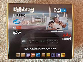 Тюнер Т2 цифровой Rainberg RB-1803 , Youtube , IPTV металлический корпус