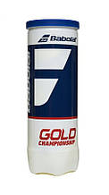 Мячи теннисные Babolat Gold Championship X3 501084/113 (3 шт.)