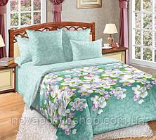 Яблони в цвету, постельное белье из перкаля (100% хлопок)