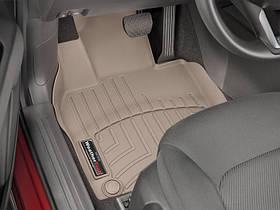 Килими гумові WeatherTech Mazda CX-5 2017+ передні бежеві