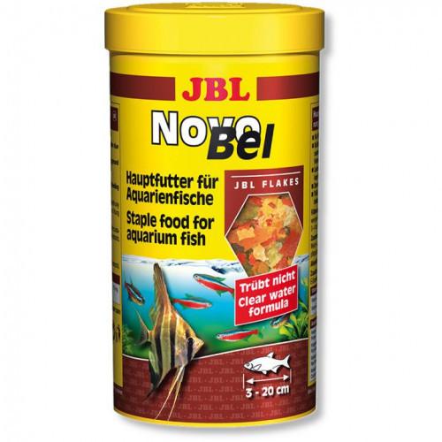 Основной корм в форме хлопьев JBL NovoBel для аквариумных рыб, 250 мл