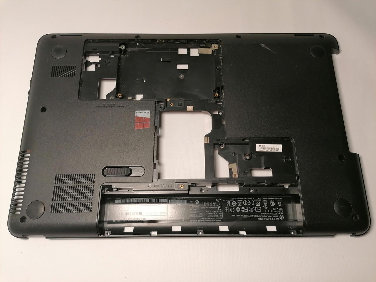 Б/У корпус поддон (низ) для HP 650, 655, Compaq CQ58 (708523-001)