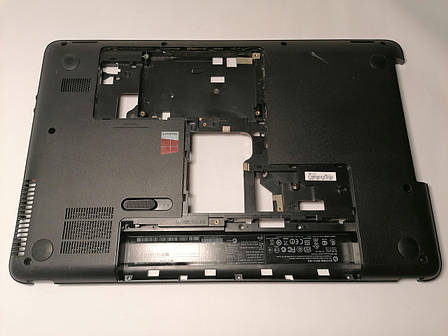 Б/У корпус поддон (низ) для HP 650, 655, Compaq CQ58 (708523-001), фото 2
