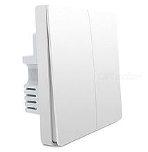 Умный выключатель Xiaomi Aqara Smart Light Switch Single Button ZigBee Version (QBKG11LM) С нулём