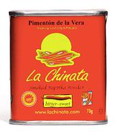 Паприка копченая сладко - горькая порошок, 70 грамм La Chinata