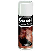 Аэрозольная краска для замши и нубука красная Gazel 200ml