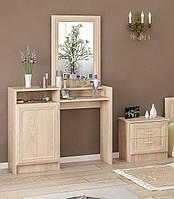 Стол туалетный в спальню из ДСП 1Д Соната Мебель Сервис