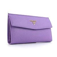 Фиолетовый женский кошелек pd-1237 pur из натуральной кожи, фото 1