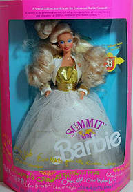 Кукла Барби коллекционная Mattel Barbie Summit 1990 г.