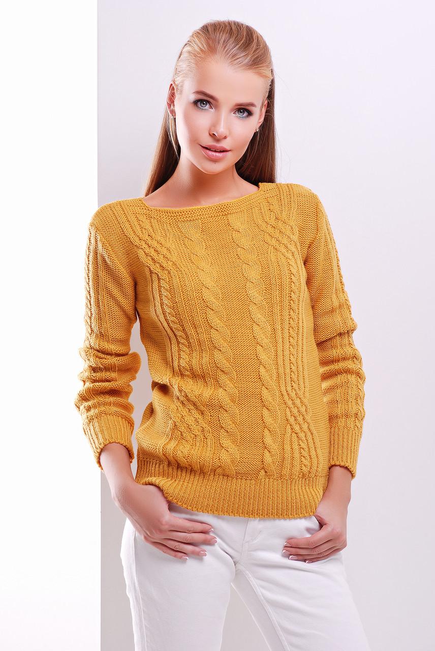 Вязаный свитер 15 ,семь цветов, р. 44-50(уни)