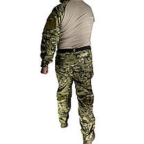 Костюм тактический Lesko A751 Camouflage XXL (38 р) камуфляжный комплект для мужчин с длинным рукавом милитари, фото 2