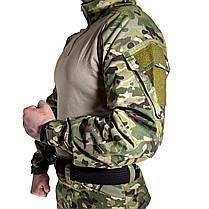 Костюм тактичний Lesko A751 Camouflage XXL (38 р) камуфляжний комплект для чоловіків з довгим рукавом мілітарі, фото 3
