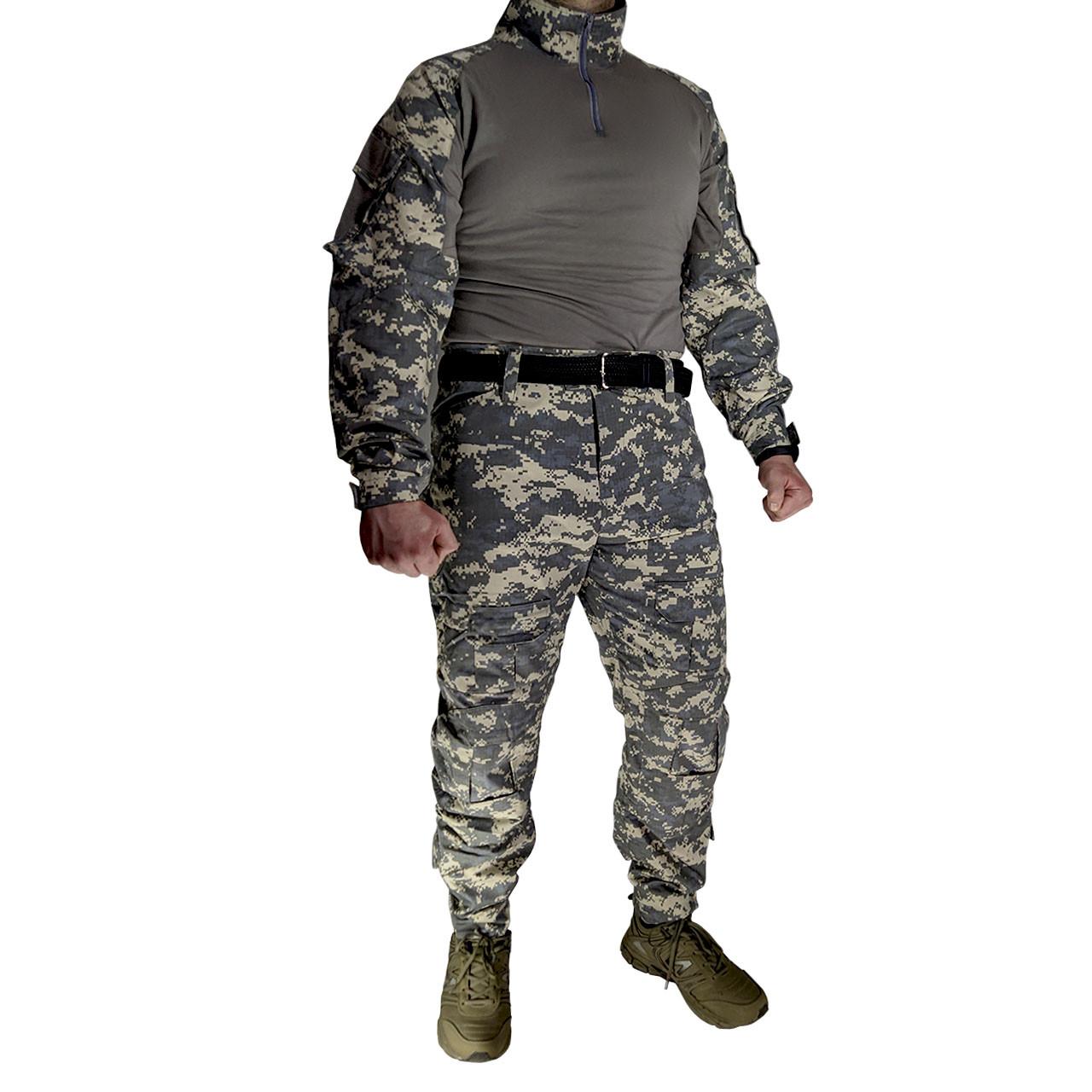Костюм тактический Lesko A751 Camouflage UCP XXXL (40 р.) камуфляжный комплект для мужчин с длинным рукавом