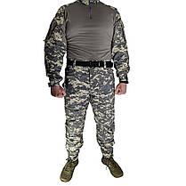 Костюм тактический Lesko A751 Camouflage UCP XXXL (40 р.) камуфляжный комплект для мужчин с длинным рукавом, фото 2