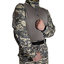 Костюм тактический Lesko A751 Camouflage UCP XXXL (40 р.) камуфляжный комплект для мужчин с длинным рукавом, фото 3