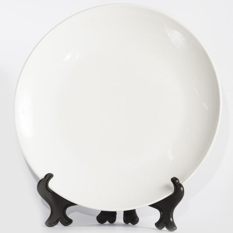 Тарелка белая D20 для 3D сублимации