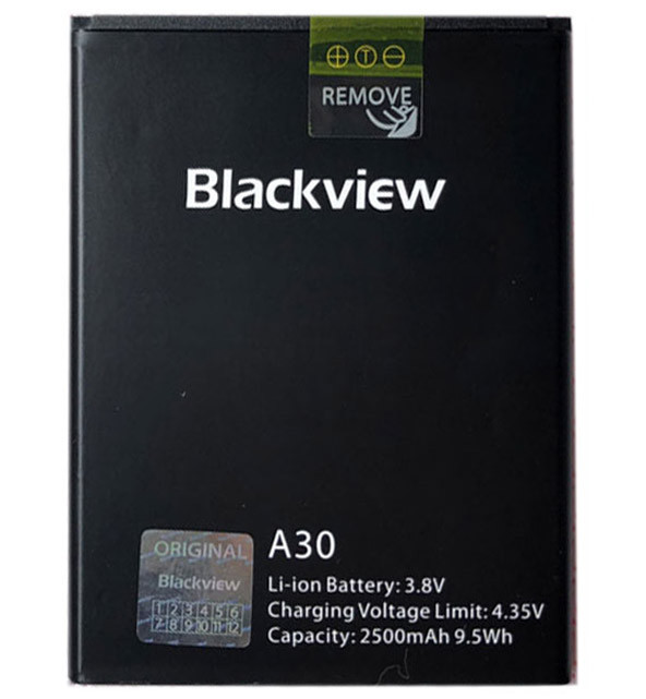 Акумуляторна батарея для мобільного телефону Blackview A30