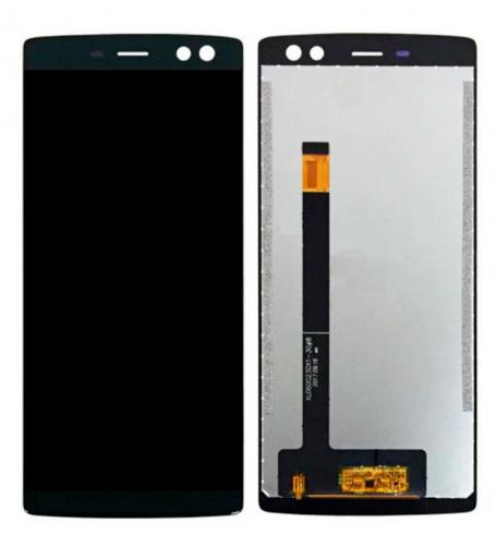 Дисплей для Doogee BL12000 модуль в сборе с тачскрином, черный
