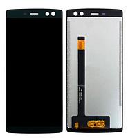 Дисплей Doogee BL12000 модуль в зборі з тачскріном, чорний