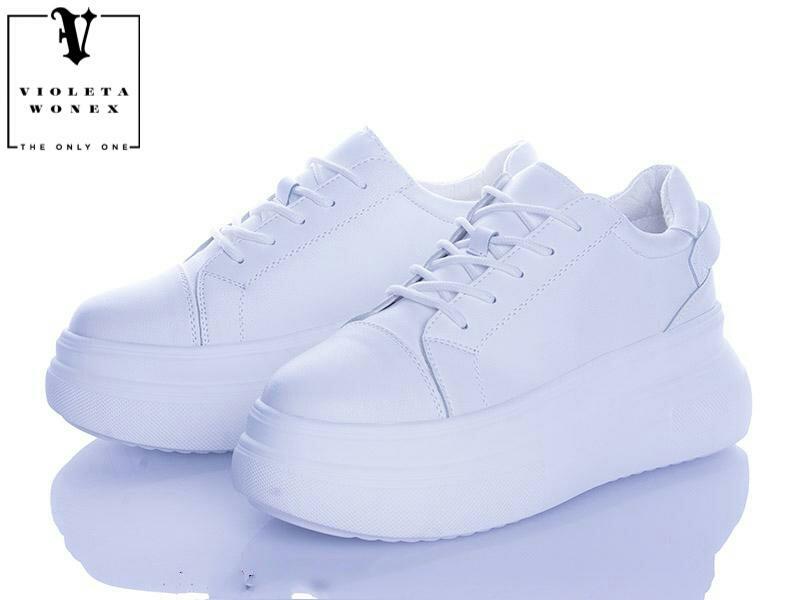 Жіночі кросівки , жіноче взуття Violeta Wonex White