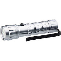 Ручной фонарь STERN 12LED 3xAAA алюминиевый корпус с ремешком