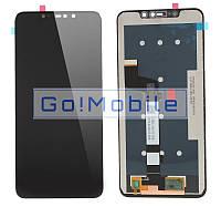 Дисплей + сенсор (модуль) Xiaomi Mi A2 Lite/Redmi 6 Pro черный оригинал (Китай)