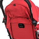 Детская прогулочная коляска  El Camino WISH ME 1058 Red, фото 6