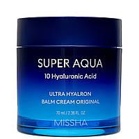 Увлажняющий крем-бальзам MISSHA Super Aqua Ultra Hyalron Balm Cream Original