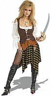 Карнавальный костюм пиратка размер М  б/у