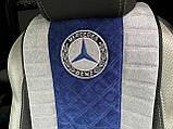 Накидки на авто сидения из алькантары универсальные, фото 2